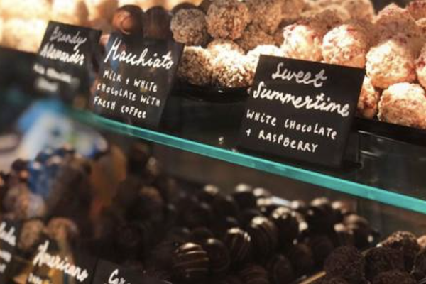 Booths unveils new chocolate counter