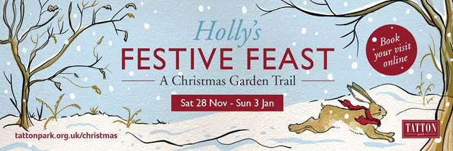 Holly's festive feast in Tatton Park's Gardens this Christmas