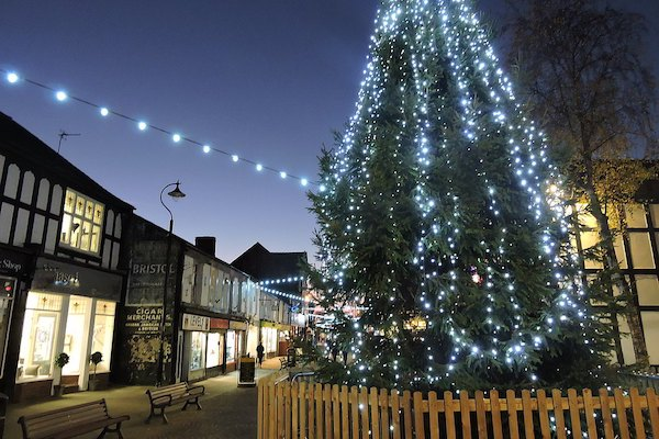 Local businesses count down Northwich Christmas light switch-on