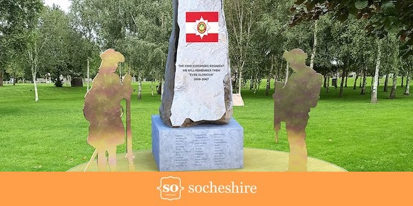 Approval for national monument to recognise The Cheshire Regiment